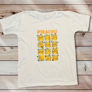 New Cute Pokémon T-Shirt One Size